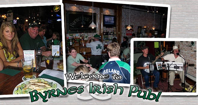Welcome to Byrnes Irish Pub